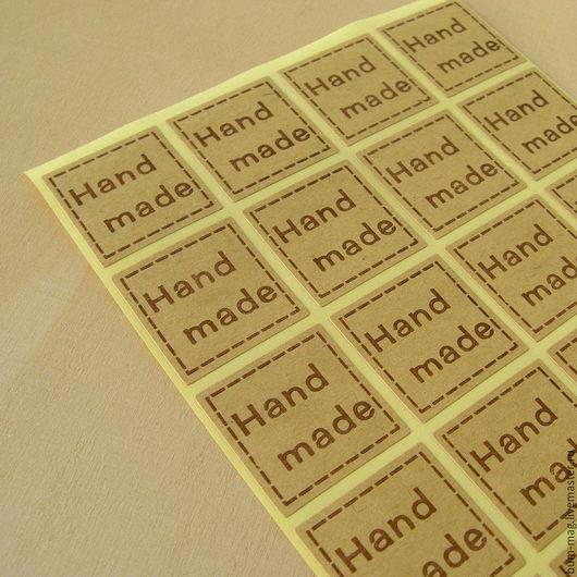 Упаковка ручной работы. Ярмарка Мастеров - ручная работа. Купить Наклейки HANDMADE (разные дизайны). Handmade. Наклейки, упаковка