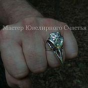 "Фен-шуй и эзотерика handmade. Livemaster - original item Ring-Amulet ""Vegvisir"" sterling silver(925). Handmade."