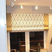 Для дома и интерьера ручной работы. Ярмарка Мастеров - ручная работа Декор кухни + гостиной (шторы, подушки). Handmade.