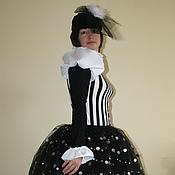Одежда ручной работы. Ярмарка Мастеров - ручная работа Костюм для девушки мима. Handmade.