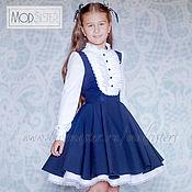 Одежда handmade. Livemaster - original item School dress Art.065. Handmade.