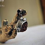 Украшения ручной работы. Ярмарка Мастеров - ручная работа Подвеска Рудракша с лунными камнями. Handmade.