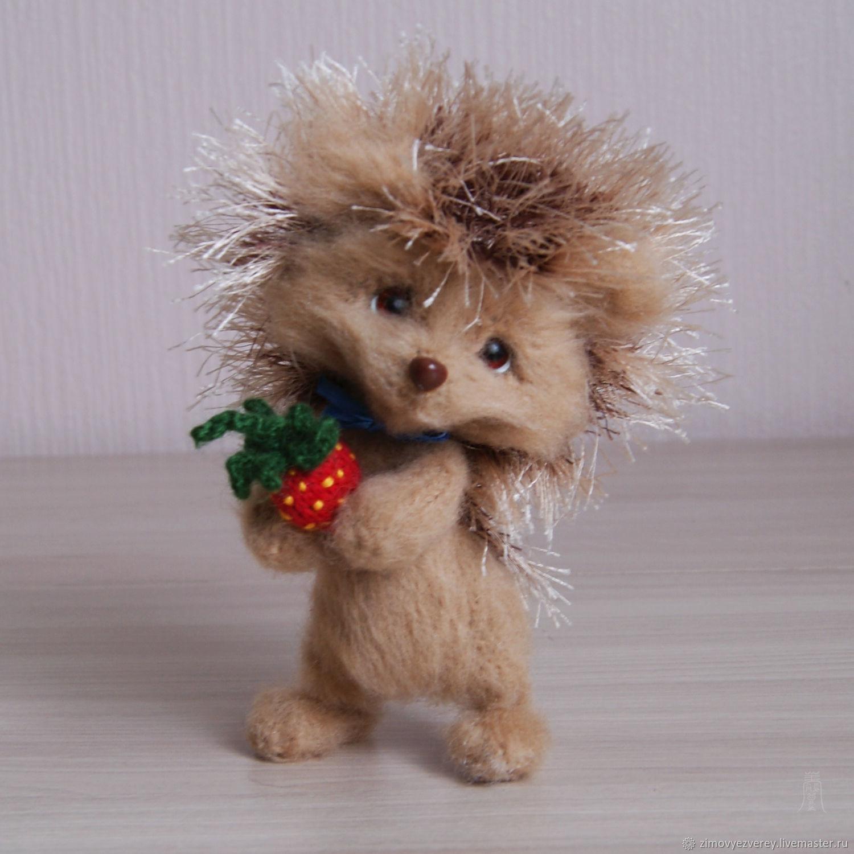 Ёжик маленький, Амигуруми куклы и игрушки, Санкт-Петербург,  Фото №1