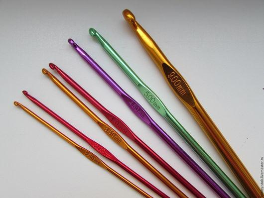 Вязание ручной работы. Ярмарка Мастеров - ручная работа. Купить Крючки для вязания средней толщины. Handmade. Разноцветный, крючком, крючок