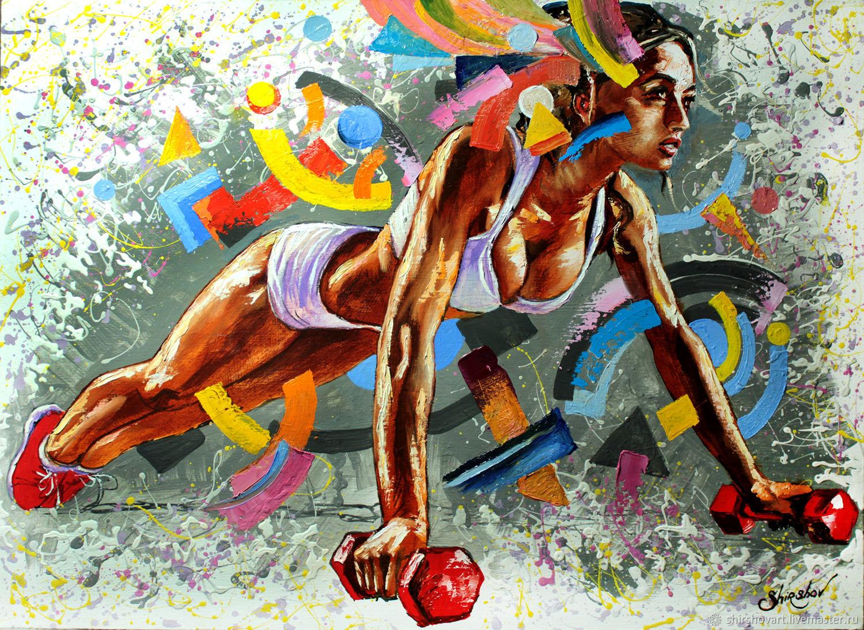 постер на тему спорта акара