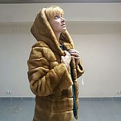 "Норковая шубка ""Золотая зима"""
