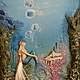 Author's voluminous picture of the Dreamy little mermaid, Pictures, Moscow,  Фото №1