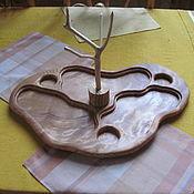 Для дома и интерьера ручной работы. Ярмарка Мастеров - ручная работа Поднос для подачи горячего. Handmade.