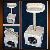 Для домашних животных, ручной работы. Ярмарка Мастеров - ручная работа Когтеточки для котов и кошек. Handmade.