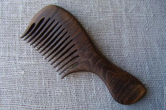 Сувениры и подарки Ярмарка Мастеров - ручная работа Купить Расческа деревянная из дуба Handmade