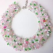 Свадебный салон handmade. Livemaster - original item Necklace