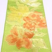 Винтаж handmade. Livemaster - original item Japanese silk. OBI belt for kimono Nishijin