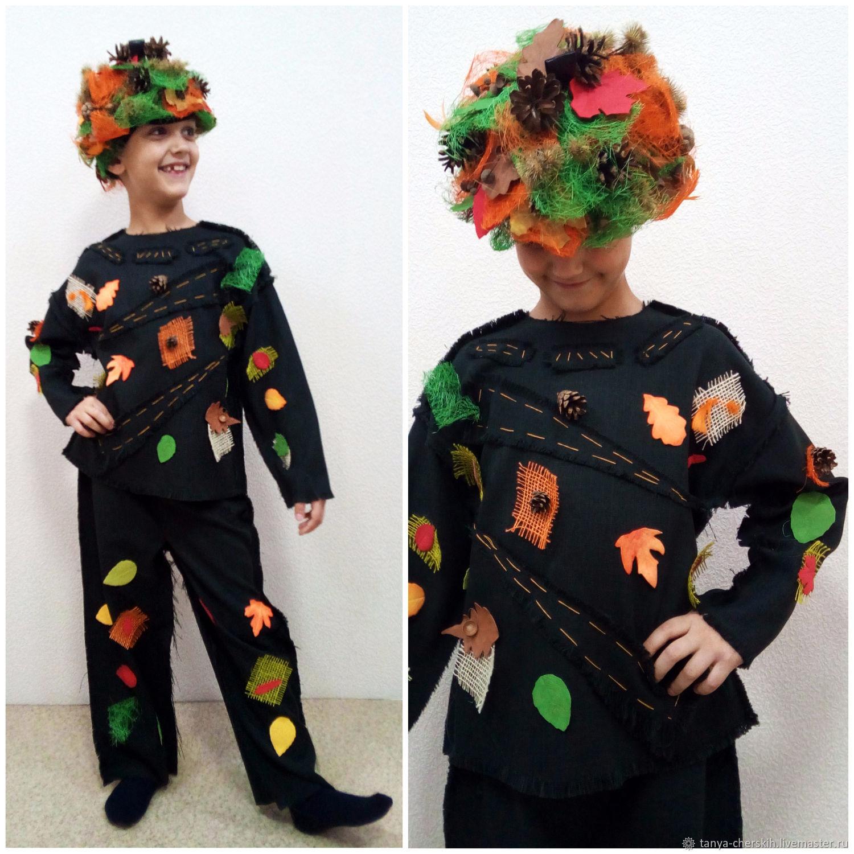 Детские карнавальные костюмы ручной работы. Ярмарка Мастеров - ручная  работа. Купить Леший костюм детский ... c428d18c730b5