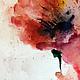 Картины цветов ручной работы. Маки. Akvarielka. Интернет-магазин Ярмарка Мастеров. Мак, интерьер, символ, лета, зима