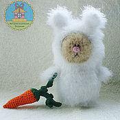 Куклы и игрушки ручной работы. Ярмарка Мастеров - ручная работа котик-гномик Банни. Handmade.