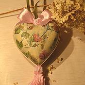 Подарки к праздникам ручной работы. Ярмарка Мастеров - ручная работа Сердечко шебби. Handmade.