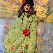 "Пальто ручной работы. Ярмарка Мастеров - ручная работа Пальто ""Маковая поляна"". Handmade."