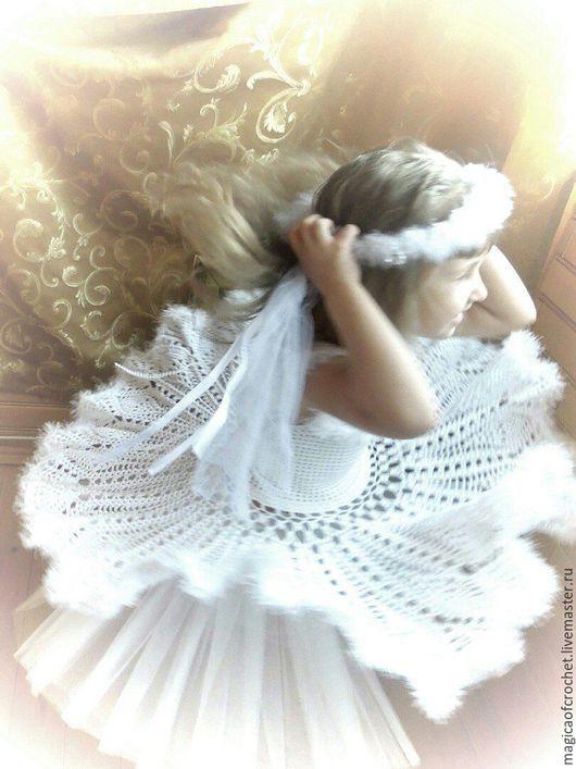 """Одежда для девочек, ручной работы. Ярмарка Мастеров - ручная работа. Купить Платье """"Снежность"""". Handmade. Белый, ажурное платье"""