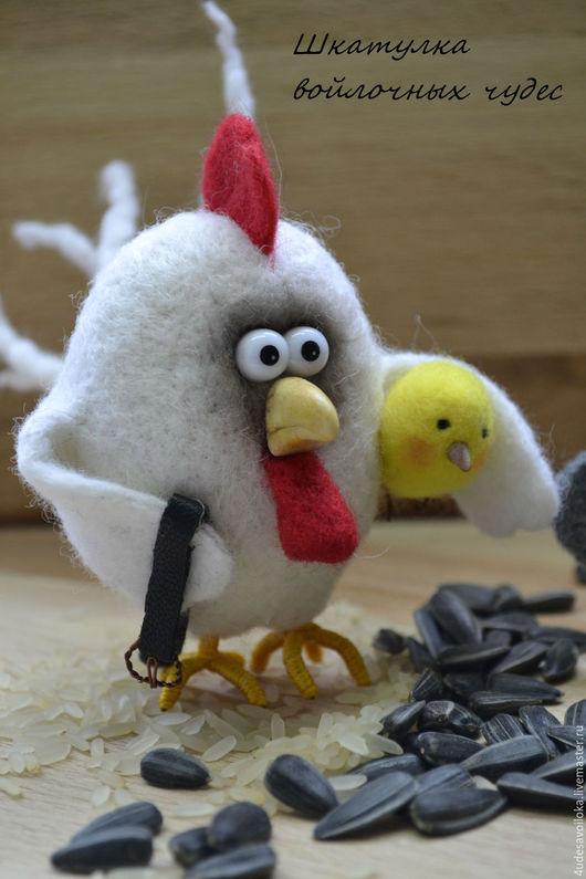 """Игрушки животные, ручной работы. Ярмарка Мастеров - ручная работа. Купить """" Птичий двор"""". Handmade. Комбинированный, сувенир на Пасху"""