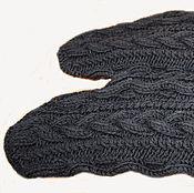 Одежда ручной работы. Ярмарка Мастеров - ручная работа РУКАВА вязаные для меховых жилетов. Handmade.
