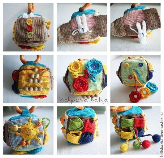 Яркая игрушка для вашего малыша. Мягкая и теплая!