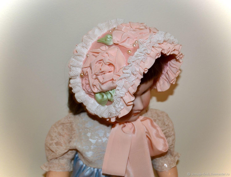 Боннет для антикварной куклы, Одежда для кукол, Вышний Волочек,  Фото №1