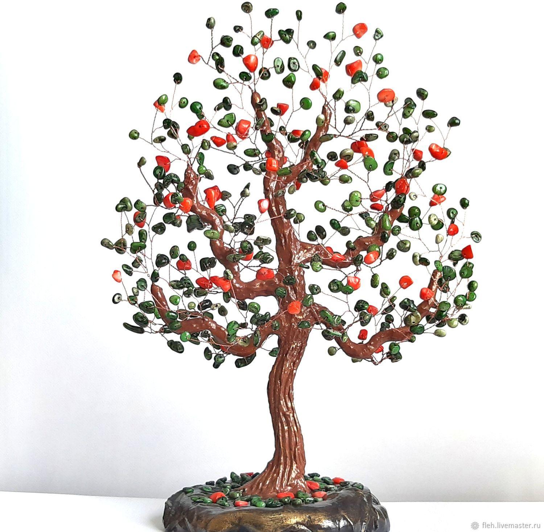 Дерево из коралла Подарок коралловая свадьба Семье 35, Деревья, Новосибирск,  Фото №1