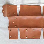 Материалы для творчества handmade. Livemaster - original item The pattern of the wallet from one piece. Handmade.
