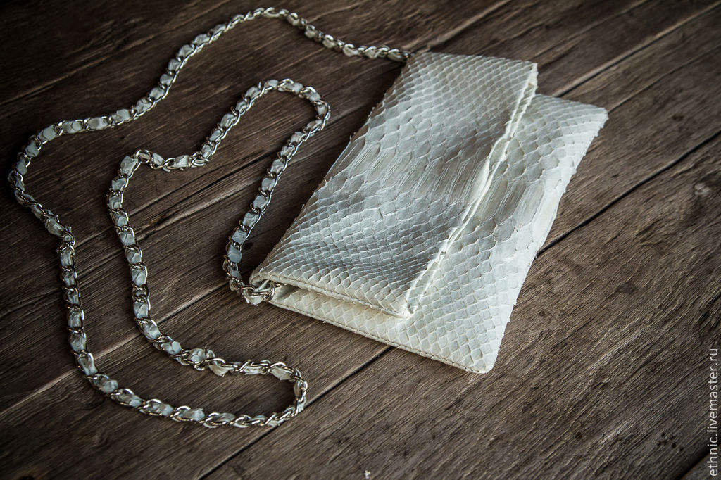 Clutch made from Python, Clutches, Chelyabinsk,  Фото №1