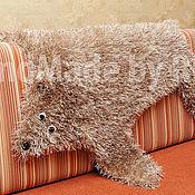 """Для дома и интерьера ручной работы. Ярмарка Мастеров - ручная работа коврик """"шкурка Медведя"""". Handmade."""