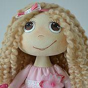 """Куклы и игрушки ручной работы. Ярмарка Мастеров - ручная работа Текстильная кукла """"Розовое облачко"""". Handmade."""