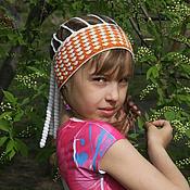 Работы для детей, ручной работы. Ярмарка Мастеров - ручная работа повязочка на голову. Handmade.