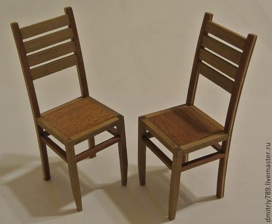 Кукольный дом ручной работы. Ярмарка Мастеров - ручная работа. Купить Кукольные стулья. Handmade. Кукольный стульчик