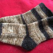 Аксессуары handmade. Livemaster - original item Thick socks made of wool. Handmade.