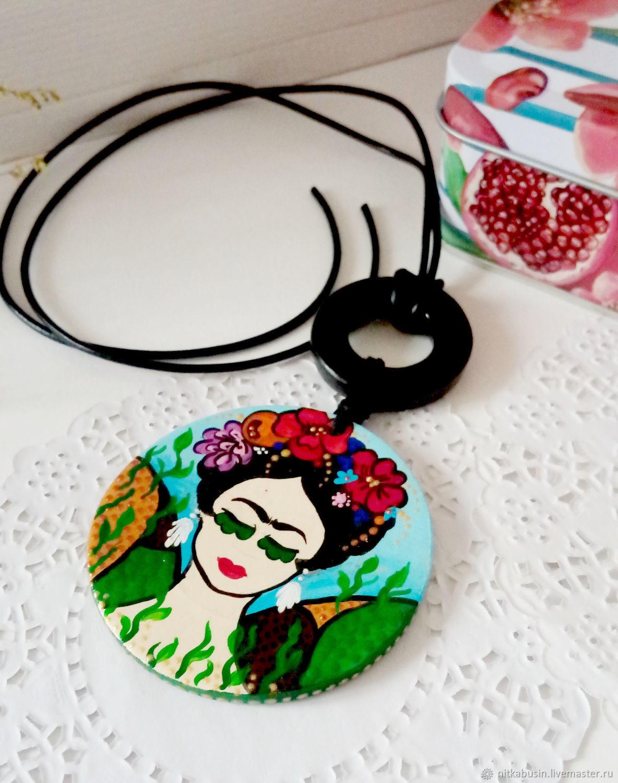 Medallion 'Frida', Pendants, Novopavlovsk,  Фото №1