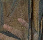 Материалы для творчества ручной работы. Ярмарка Мастеров - ручная работа Трикотажная сетка, черная, 2м. Handmade.