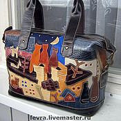 Сумки и аксессуары handmade. Livemaster - original item Bag New Yellow House.. Handmade.
