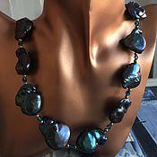 Украшения handmade. Livemaster - original item Necklace pearl souffle