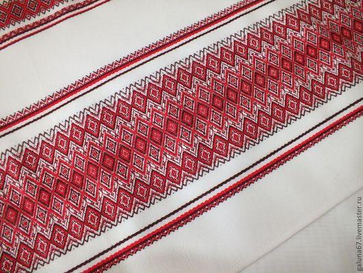 """Текстиль, ковры ручной работы. Ярмарка Мастеров - ручная работа. Купить """"Карпатские узоры"""" дорожка на стол. Handmade. Карпаты, ромбики"""