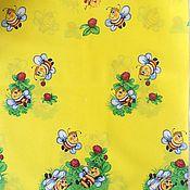 """Работы для детей, ручной работы. Ярмарка Мастеров - ручная работа Пеленка ситцевая """"Пчелки"""". Handmade."""