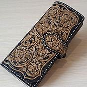 Сумки и аксессуары handmade. Livemaster - original item Purse, wallet, purse genuine leather. Handmade.