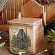 Короб для кухни, из сибирского кедра. `LedaksDecor`