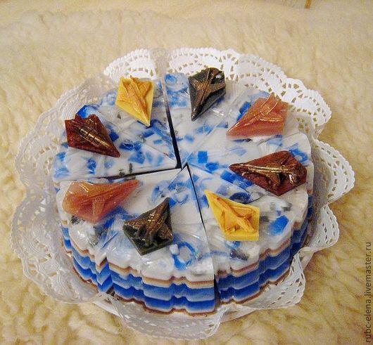 Мыло-торт