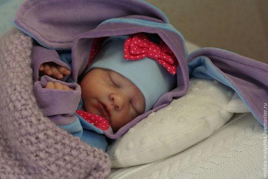 """Для новорожденных, ручной работы. Ярмарка Мастеров - ручная работа. Купить Комплект """"Милый Иа"""". Handmade. Голубой, для новорожденного"""