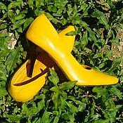 Обувь ручной работы. Ярмарка Мастеров - ручная работа Туфли Солнечное настроение. Handmade.