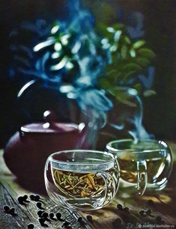 Цветочный чай, Картины, Москва, Фото №1