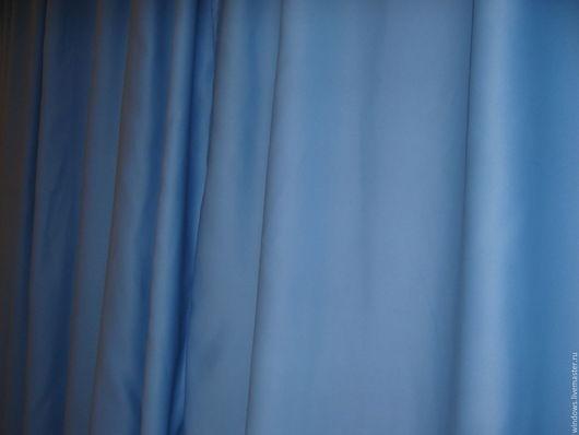 Текстиль, ковры ручной работы. Ярмарка Мастеров - ручная работа. Купить шторы блэкаут голубые. Handmade. Интерьер, шторы для гостиной