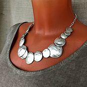 Украшения handmade. Livemaster - original item Decoration in the style boho. Asymmetrical necklace. Unusual decoration. Handmade.