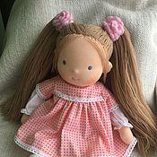 Куклы и игрушки handmade. Livemaster - original item Linda (inspired) - Waldorf doll. Handmade.