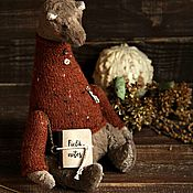 Куклы и игрушки ручной работы. Ярмарка Мастеров - ручная работа Мишка косолапый October. Handmade.
